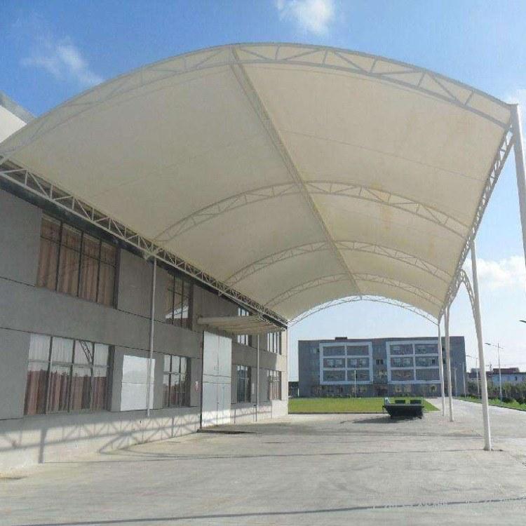 郑州乾景膜结构厂家 专业制作停车棚 看台棚 景观棚 支持定制 质优价廉