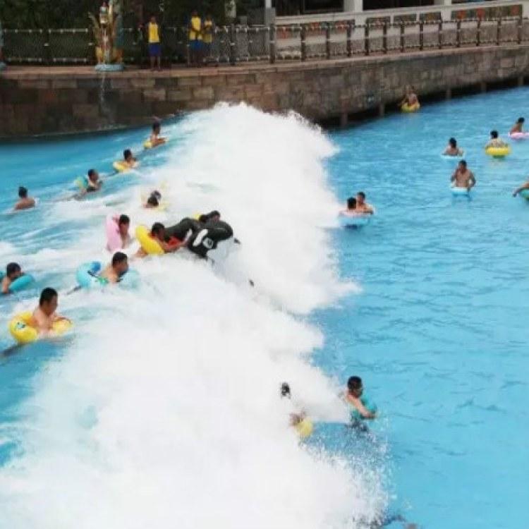 水上乐园造浪设备,水上乐园漂流河设备