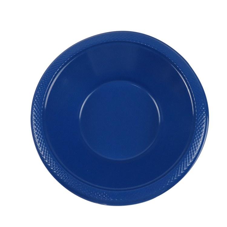 一次性9寸PS盘 彩色塑料圆盘餐盘