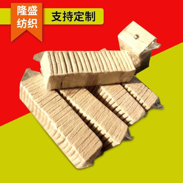 面粉厂专用白色全棉帆布清理块  清理帆布块  供应批发