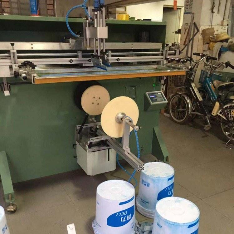 嘉兴市丝印机嘉兴滚印机定制全自动丝网印刷机工厂