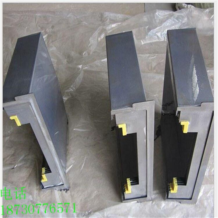 河北机床导轨防护罩 机床钢板防护罩批发