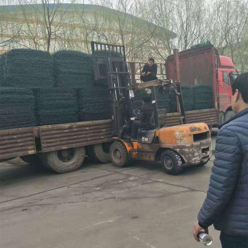 厂家直销 护坡石笼网 耐腐蚀石笼网 可来样加工定制