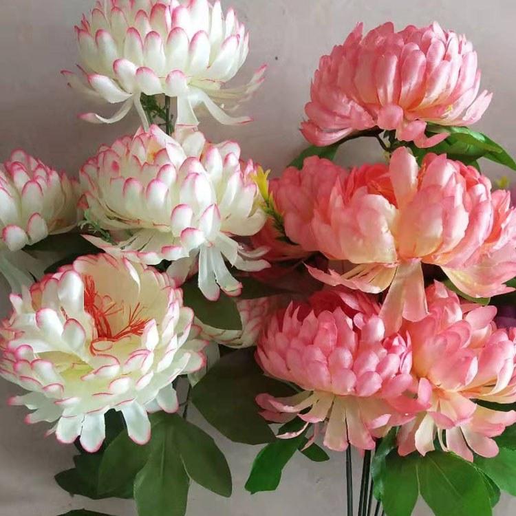 广海7头亮布高枝 花束  清明节花束  清明花
