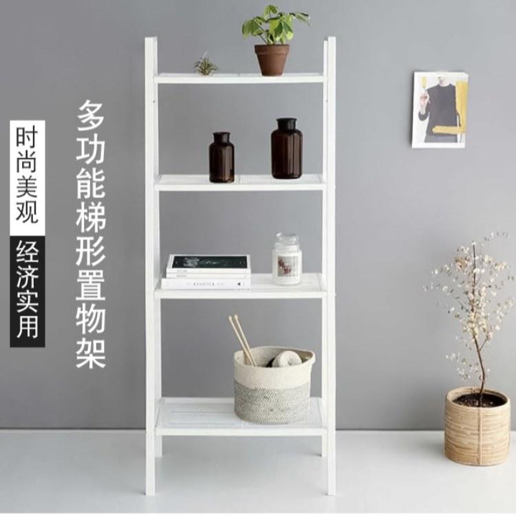 柜都多功能梯形置物架 落地储物架多层 展示铁艺置物架 简易收纳架