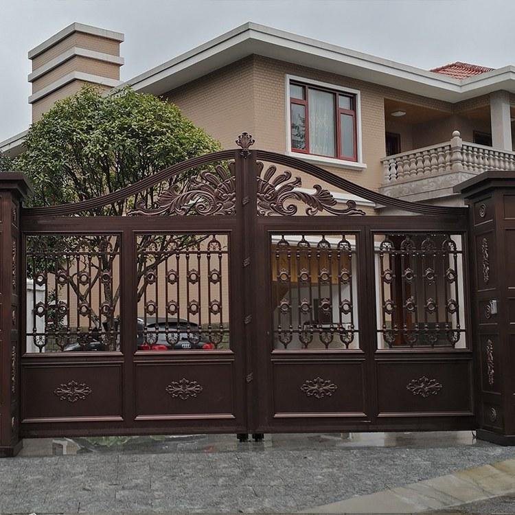 长沙庭院别墅大门易俗河建价格优惠性价比高规格齐全别墅大门