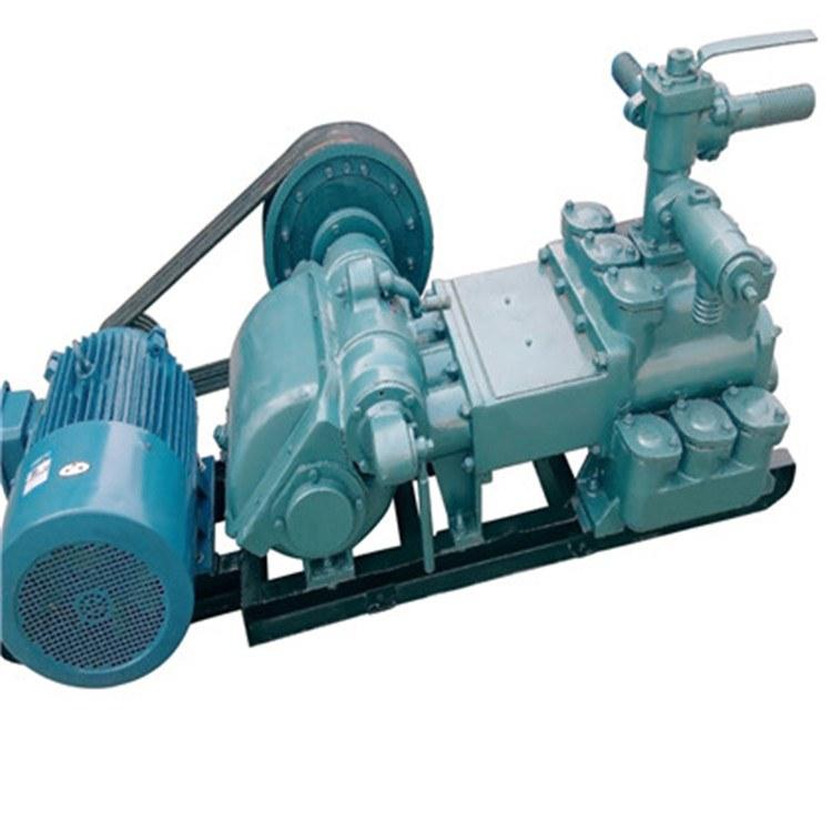 三缸矿用压滤机泥浆泵 用于地址勘探泥浆泵 高扬程耐磨抽砂泵 双液注浆机