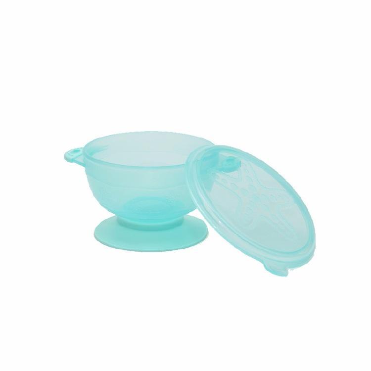 工廠招商防摔防爆帶勺寶寶吃飯吸盤碗兒童嬰兒訓練輔食碗套裝