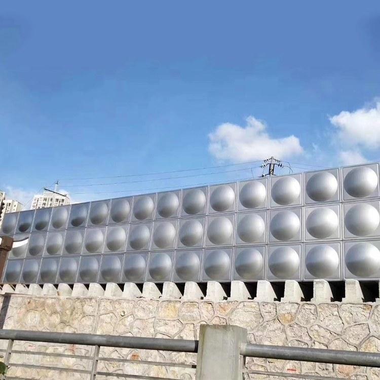 湘潭易俗精品門業 不銹鋼水塔可定制 定制不銹鋼水箱304水塔保溫消防水箱