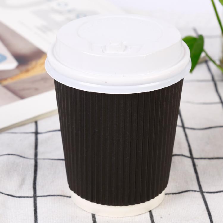 雨琪便携式咖啡杯 外带咖啡杯防漏印制LOGO