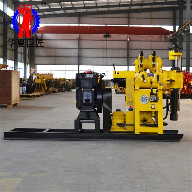 华夏巨匠HZ-130Y液压水井钻机 民用水井钻机 家用打井机