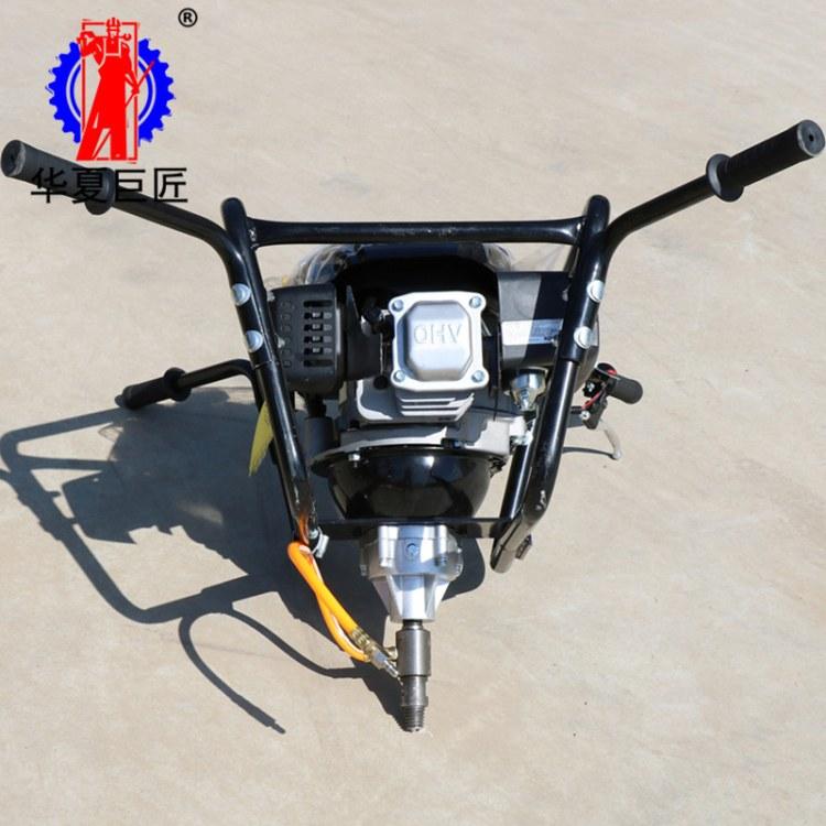 华夏巨匠双人背包钻机价格BXZ-2手持式取样钻机型号齐全岩芯可取20米