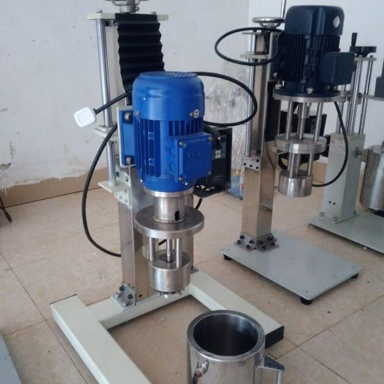 安培力 小型篮式研磨机手动电动升降砂磨机 厂家定制