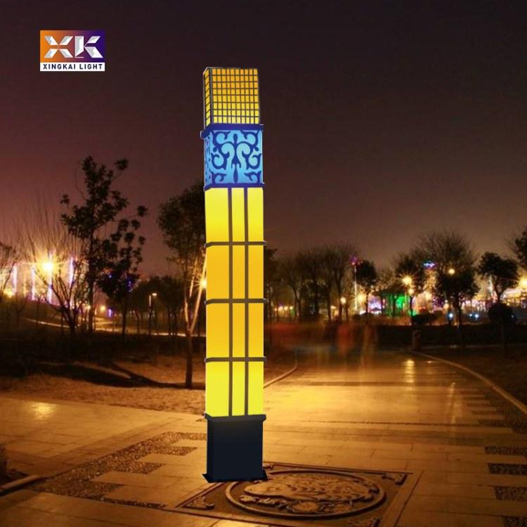 中式风格8米广场景观灯柱生产厂家定制