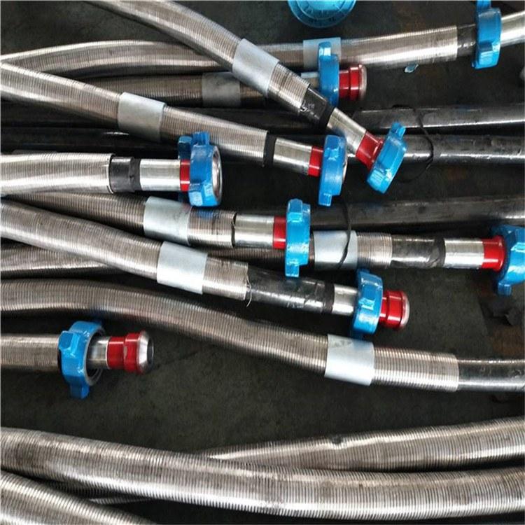 景县华北胶管厂家专业加工定做-钻探胶管水龙带-油田钻探胶管