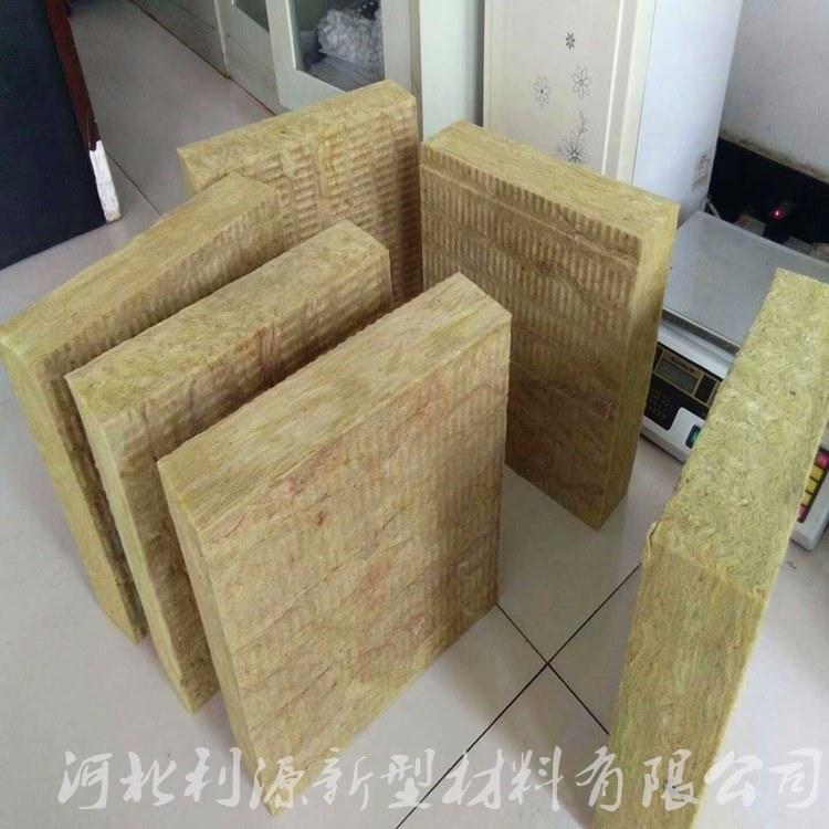 厂家供应防火岩棉板 外墙复合岩棉板 保温隔音