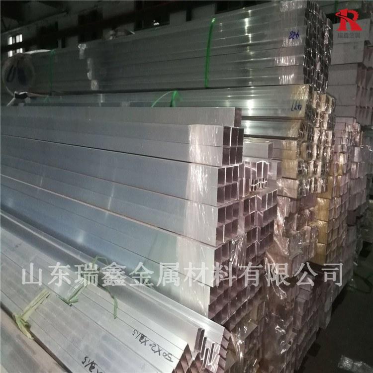 超合金铝方管 耐磨铝管 瑞鑫金属 可加工定做