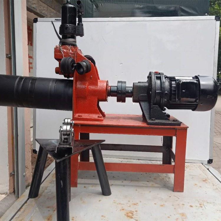路邦机械50-168管道压槽机 消防管道沟槽机 机械三件套生产厂家