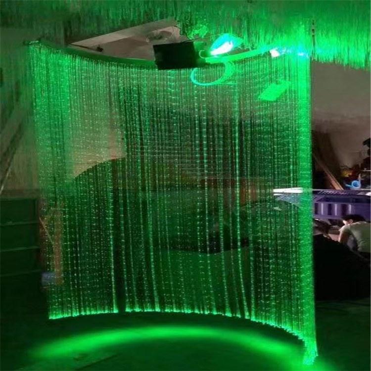 中山格美亮厂家批发 光纤灯具 吧台水帘吊灯 光纤照明