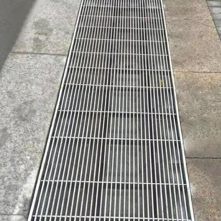 线性排水沟盖板成品定制304排水沟钢盖板