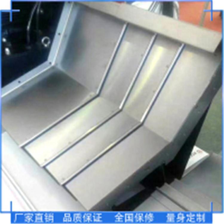 桂林 品质保证 机床导轨防护罩 起脊式钢板防护罩