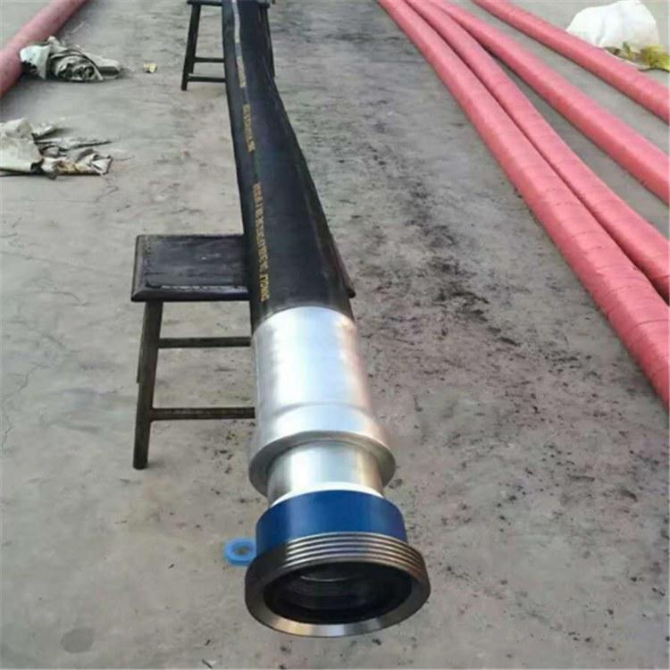景县华北胶管厂家供应油田钻探胶管-高压钻探水龙带-高压管线组合