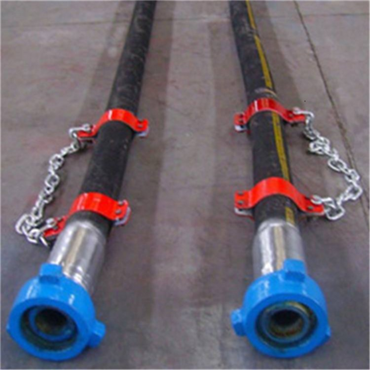 德利钻探胶管水龙带 重庆防老化钻探石油胶管 喷浆管