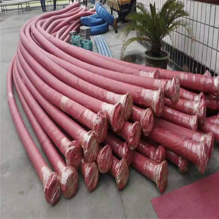 德利超高压钻探胶管 湖北油田钻井用钻探胶管 耐火胶管