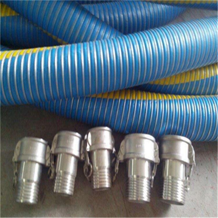 德利钻探胶管带由壬接头 江西超高压耐火石油钻探胶管
