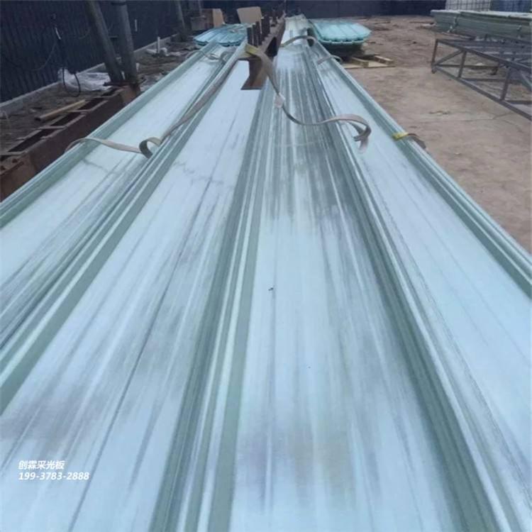 供应郑州玻璃钢采光板FRP透明瓦防腐阻燃