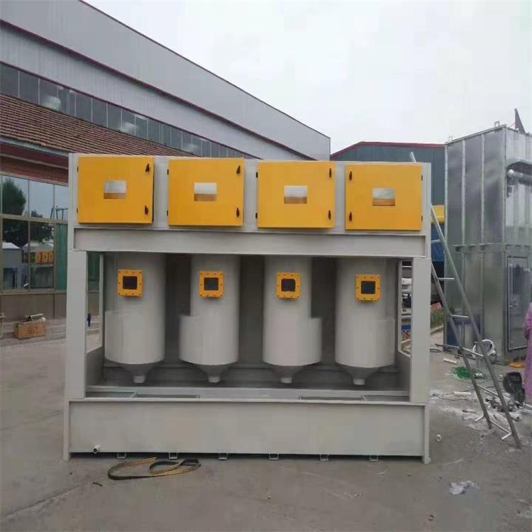 不锈钢水旋喷漆柜厂家直销废气漆雾净化设备 环保型新型废气设备无泵水漩柜