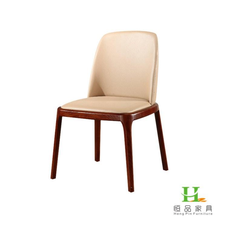 欧式风格餐椅定做 实木餐椅厂家 自动餐桌价格 恒品家具