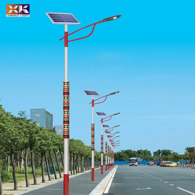新农村6米太阳能路灯厂家直销 一体化太阳能路灯