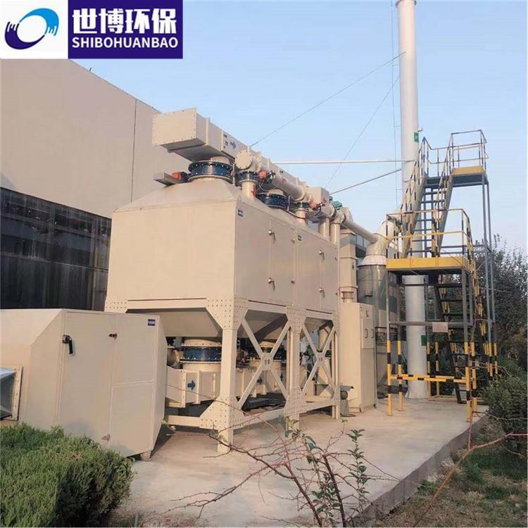 世博 有机废气吸附催化燃烧装置 VOCS催化燃烧设备