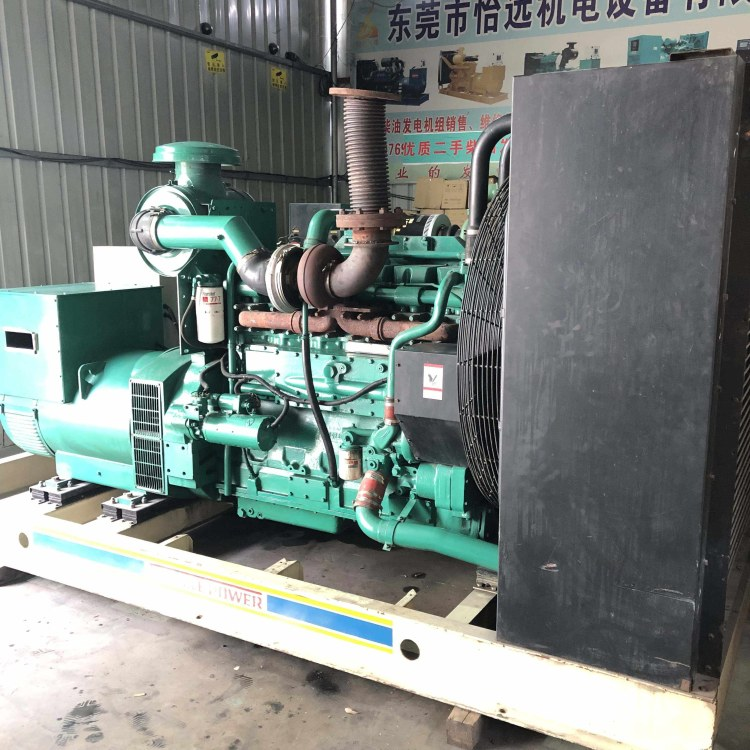 450KW重庆康明斯二手发电机转让KTAA19-G5发电机组