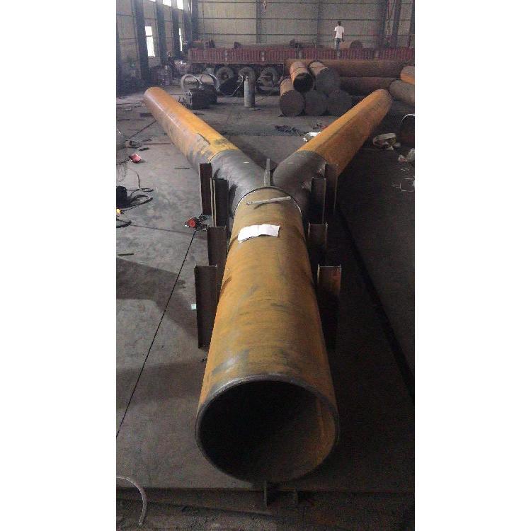 源头直供钢围檩钢管柱 活络端 预埋桩生产厂家