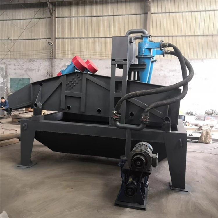 腾建环保细砂回收机 沙场尾砂细沙砂石泥浆回收脱水一体机