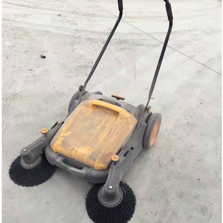 矿联机械手推式扫地机 无动力清扫车 扫地车
