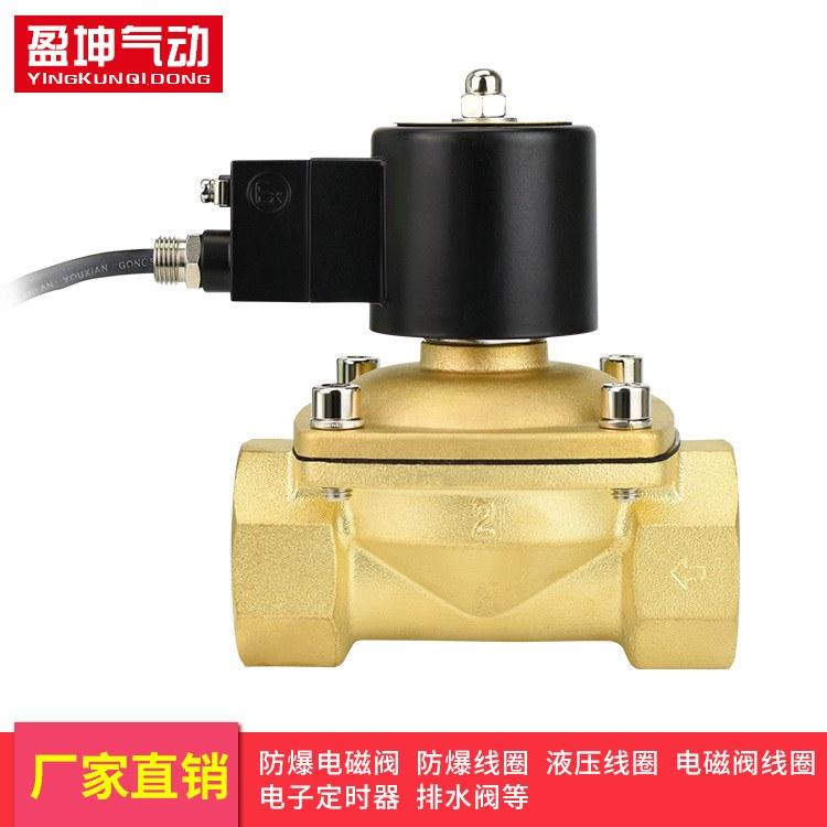 厂家直销 电磁排水阀 防爆线圈 特种电磁排水阀定制加工