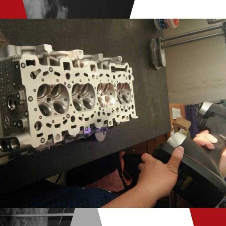 天津静海县京测科技3D扫描发动机燃烧室CFD分析三维扫描技术