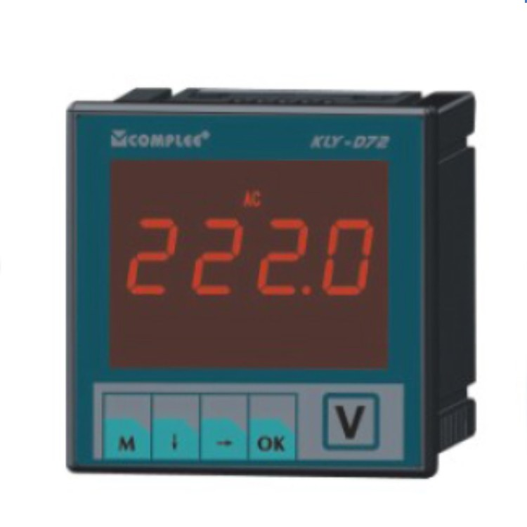 KLY-D72数字电流表价格厂家直销上海康比利COMPLEE数字电流表