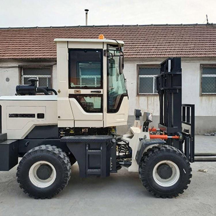越野叉车四驱 厂家直销装载式多功能可改装四驱3吨4吨越野叉车