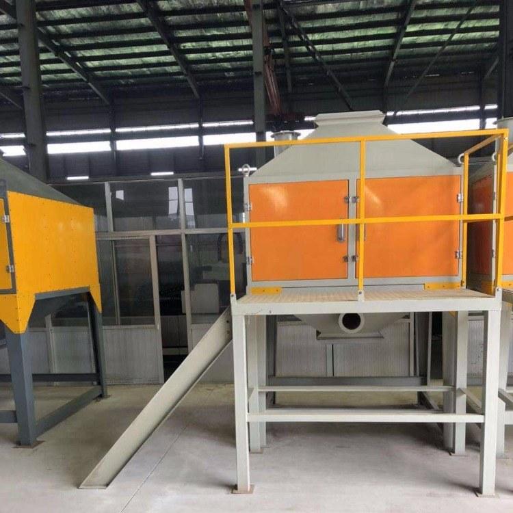 喷漆房中高浓度CO蓄热催化燃烧 VOCS废气处理催化燃烧设备 CO有机废气处理设备