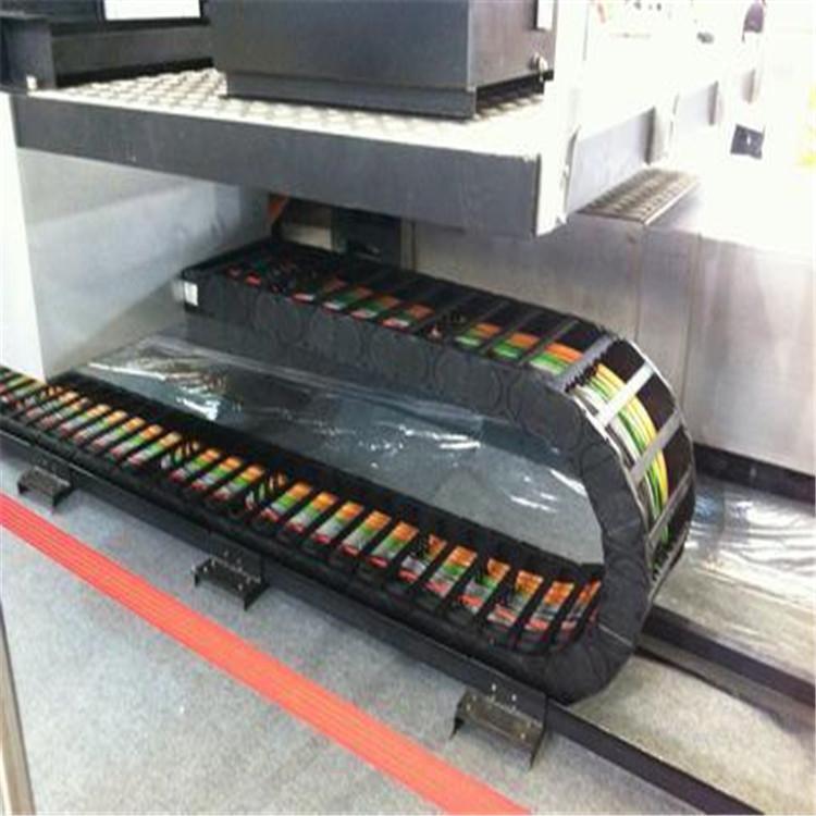 厂家制做 品质保证 S型拖链 桥式钢制拖链