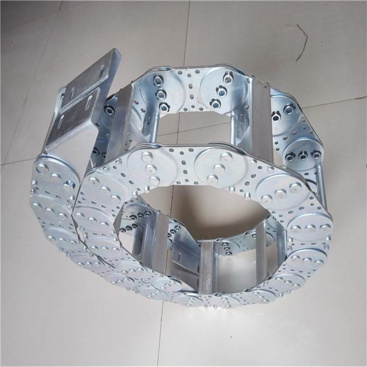 厂家生产 诚信经营 电缆塑料拖链 工程尼龙拖链