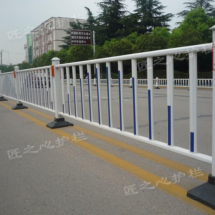 供应市政道路隔离护栏 桥梁栏杆全面设计 衡水匠之心定制
