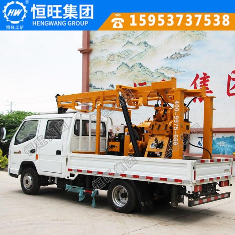 恒旺牌车载XY-3液压岩心钻机出口品质质保一年