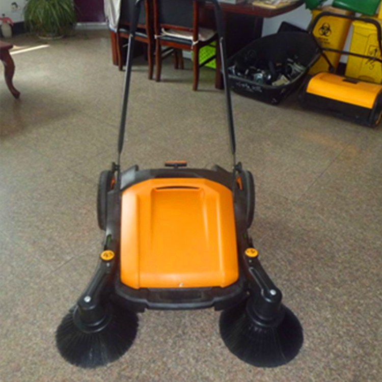 矿联机械无动力扫地机 无尘清扫车 手推式无尘扫地机