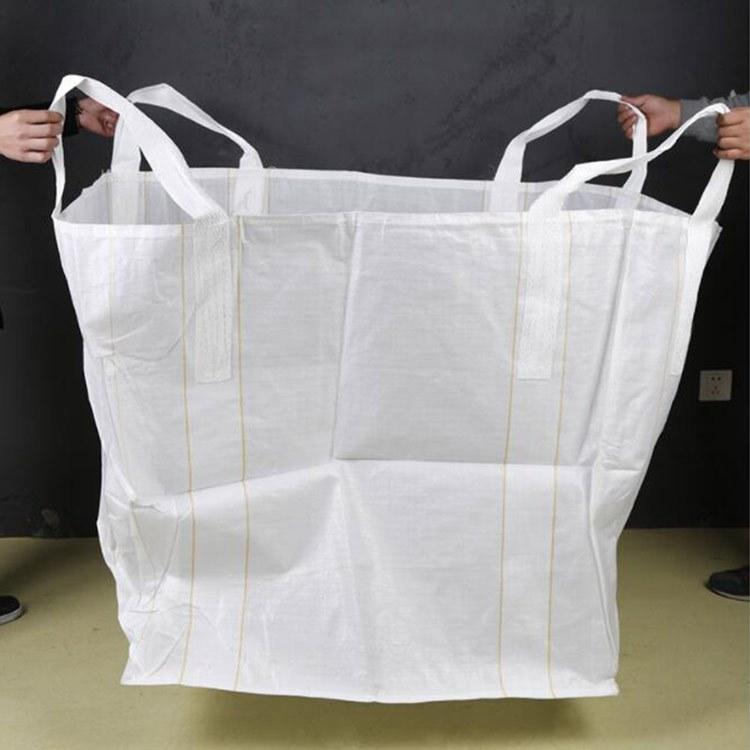 吨袋吨包集装袋 加厚耐磨污泥袋 桥梁预压1吨价格