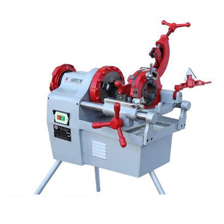 路邦机械电动套丝切管机 台式套丝切管机 管螺纹套丝机厂家